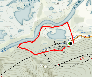 Cave and Basin Trails Map