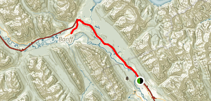 Banff Legacy Trail Map