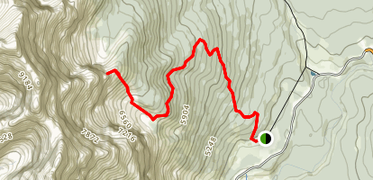 C Level Cirque Trail Map