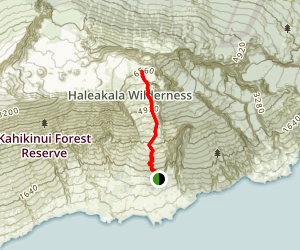 Kaupo Trail Map