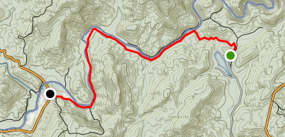 Chattooga Trail Map