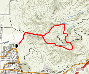 Newell Open Space Preserve Map
