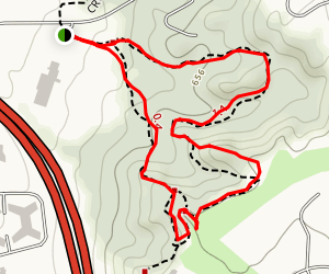 McCoord Woods Section - Crescent Trail Map