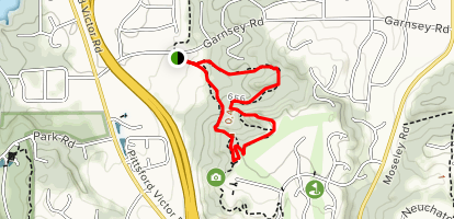 Horizon Hill Section - Crescent Trail Map