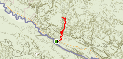 Rancherias Canyon Map
