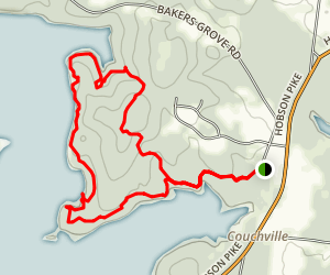 Bakers Grove Trail Map