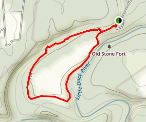 Enclosure Wall Trail Map