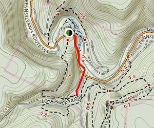 Link Trail  Map