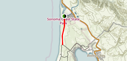 South Salmon Creek Beach Map