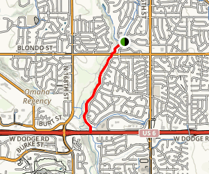West Papio Trail Map