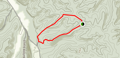 Kaintuck Trail: Deer Track Section Map