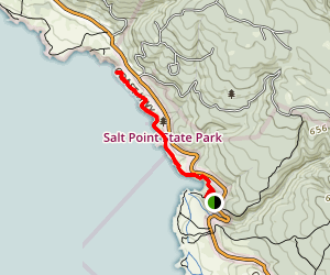 Stump Beach and Bluff Trail Map
