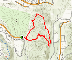 San Mateo Canyon Loop Trail Map