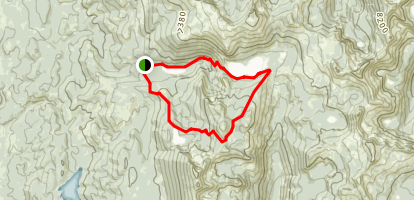 Boulder Lake Loop Trail Map