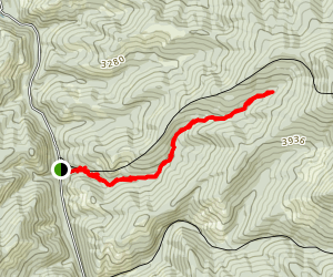 Sand Mountain Lookout Trail Map