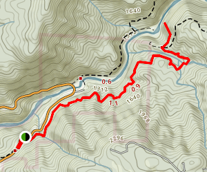 Independence Trail East Map