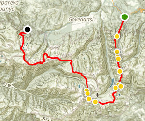 Rila Mountain Trail  Map