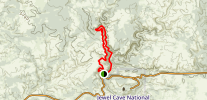 Hell Canyon Trail  Map