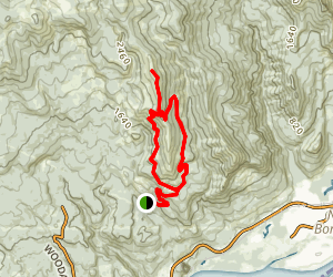 Hardy Ridge Map