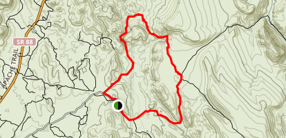 Garden Valley Trail Map