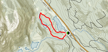 Hogarth Lakes Trail Map