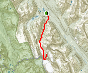 French Creek to Mount French Trail Map