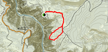 Deadhorse Trail Map