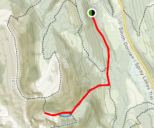 Tryst Lake Trail Map
