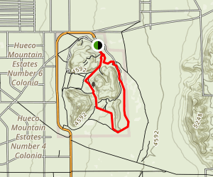 Hueco Tanks State Historical Park Trail Map