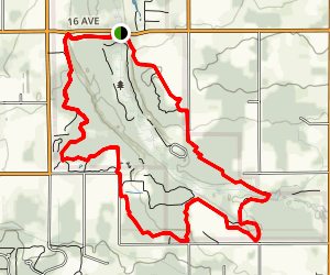 Campbell Valley Map