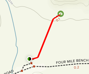 Grosvenor Arch trail Map
