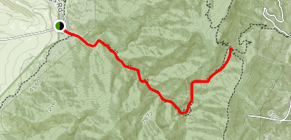 Trigo Canyon Trail Map