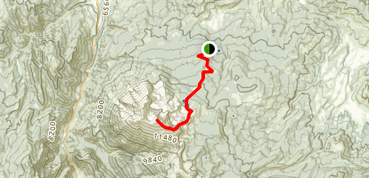 Mount Sopris Trail Map