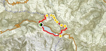 Ferrata Trincee to Bech da Mesdi Loop Map