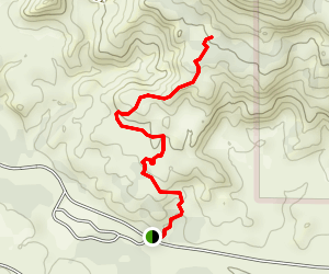 Rock Garden Trail Map