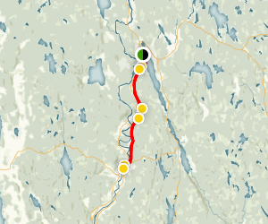 Klarälvsbanan Trail Map