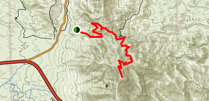 North Mount Franklin Trail Map