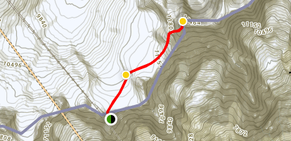Dent du Géant Mountineering Trail Map
