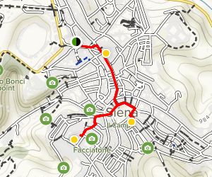 Siena Walking Tour Map