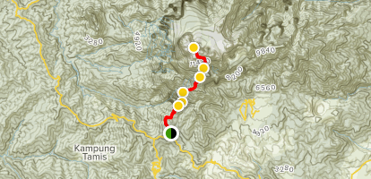 Mount Kinabalu Trail Map
