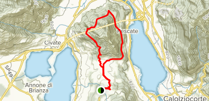Mount Barro Loop Map