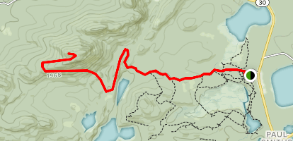 Jenkins Mountain Trail Map
