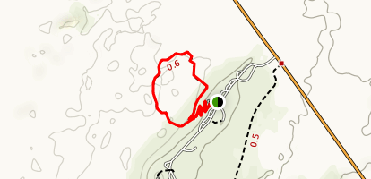 Valley of Fires Trail Map