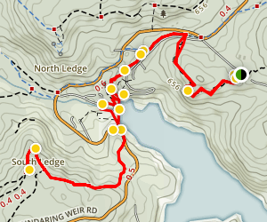 Bibbulmun Track - Beelu National Park Map