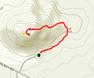 Frenchman Peak Trail Map