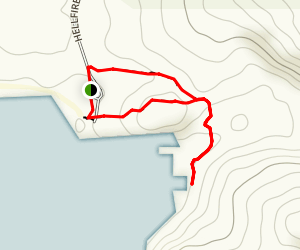 Hellfire Bay Trail Map