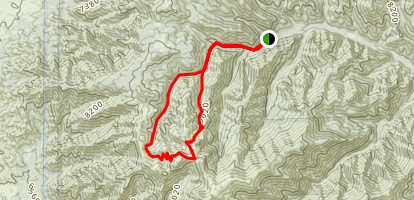 Bonito Creek Loop Trail Map