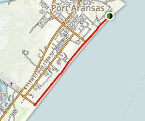 Port Aransas Map