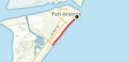 Port Aransas Map Port Aransas   Texas | AllTrails