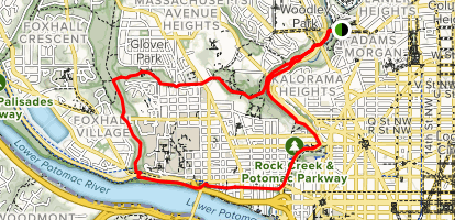 Georgetown Loop Map